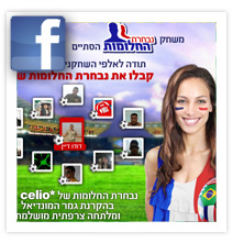 Celio World cup - Facebook application