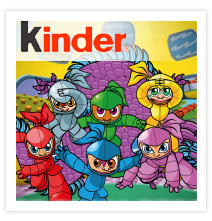 Kinder Ninjas - Flash based platform game