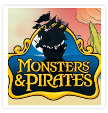 Kinder - Pirates and Monsters